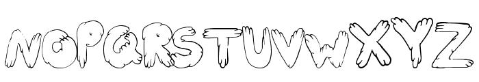 CuteFold Font UPPERCASE