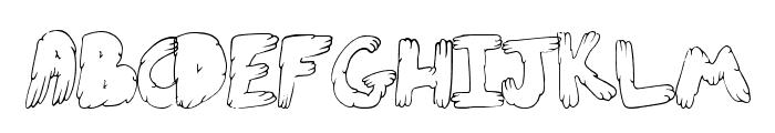 CuteFold Font LOWERCASE