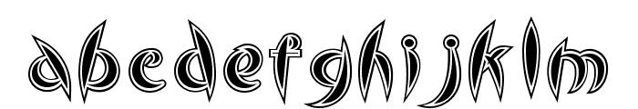 Cute Font LOWERCASE