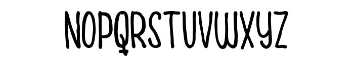 Cuties Caps Font UPPERCASE