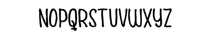 Cuties Caps Font LOWERCASE