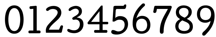 Cutive Font OTHER CHARS