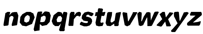 Cutrims Italic Font LOWERCASE