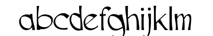 Cutscript Font LOWERCASE