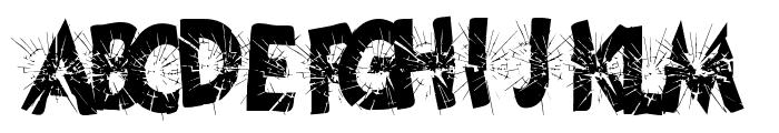 CuttingEdge Font UPPERCASE