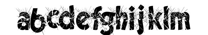 CuttingEdge Font LOWERCASE