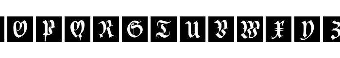 CuxInitials Font LOWERCASE