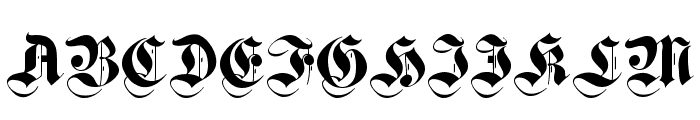 CuxhavenTimes Font UPPERCASE