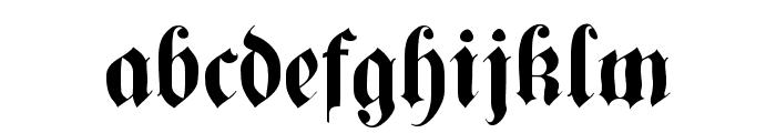 CuxhavenTimes Font LOWERCASE