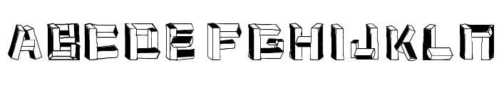 cubus Font LOWERCASE