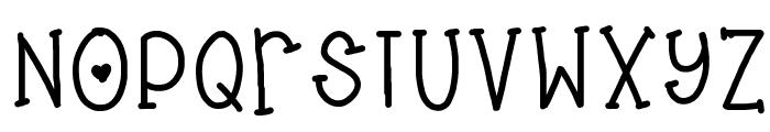 cuddles Font UPPERCASE