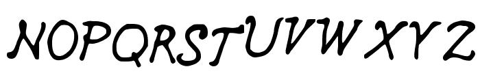 curls_n_twirls Font UPPERCASE