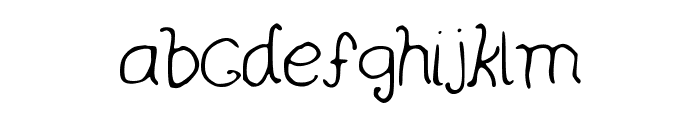 curlywurly Font LOWERCASE
