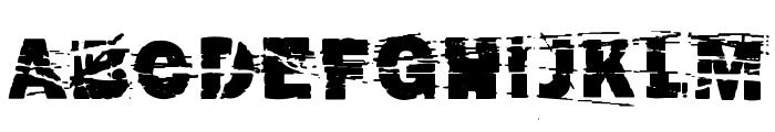 cut n paste Font UPPERCASE