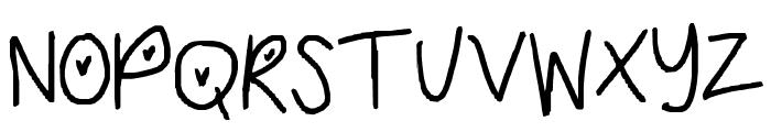 cuteso Font UPPERCASE