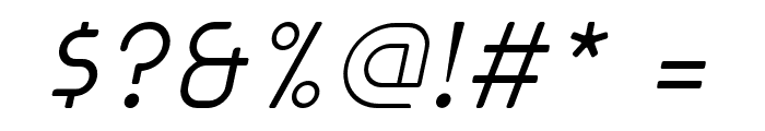 cuyabra oblique Font OTHER CHARS