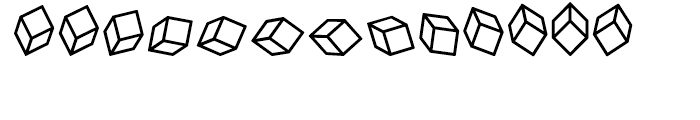Cubitus Regular Font UPPERCASE