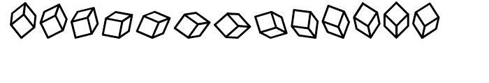 Cubitus Regular Font LOWERCASE