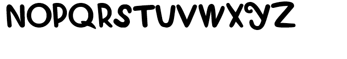 Curly Luly Regular Font UPPERCASE