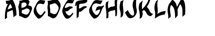 Cutthroat Intl Mideval Regular Font UPPERCASE