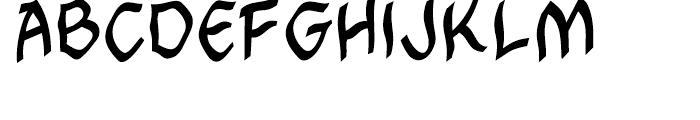 Cutthroat Intl Mideval Regular Font LOWERCASE
