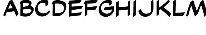 Cutthroat Intl Regular Font LOWERCASE