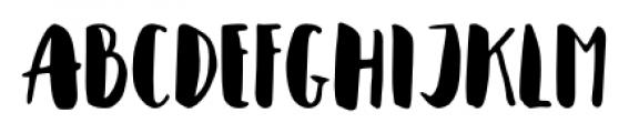 Cupcakia Regular Font UPPERCASE