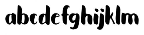 Cupcakia Regular Font LOWERCASE