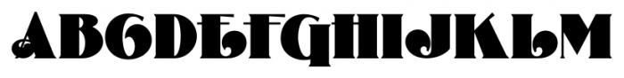 Curly Shuffle NF Regular Font UPPERCASE