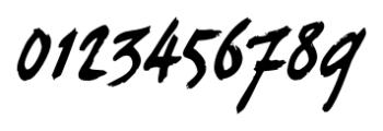 curlyJoe Regular Font OTHER CHARS