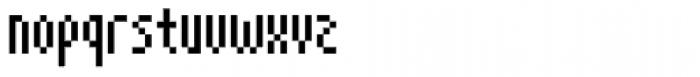 Cuba Regular Font LOWERCASE