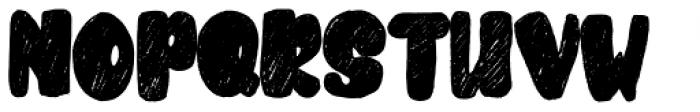 Cubby Brush Regular Font UPPERCASE