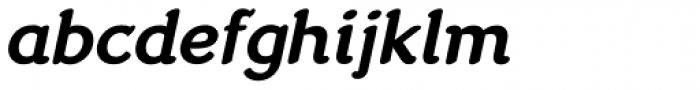 Cuca Medium Italic Font LOWERCASE
