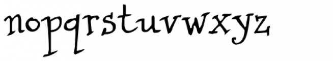 Cuento Serif Font LOWERCASE