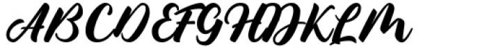 Culington Regular Font UPPERCASE