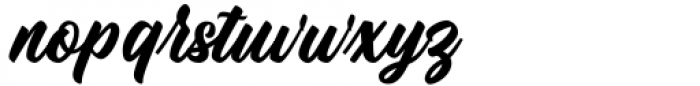 Culington Regular Font LOWERCASE