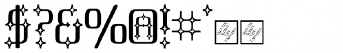 Cullion Font OTHER CHARS