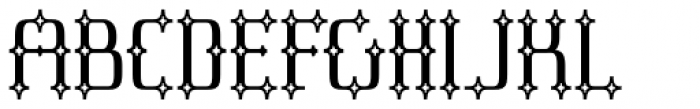 Cullion Font UPPERCASE