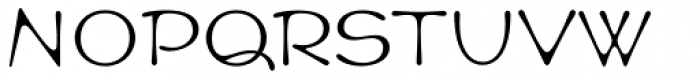 Cult Std Font UPPERCASE
