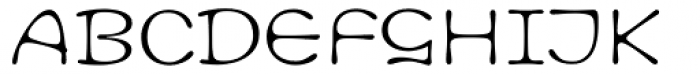 Cult Font UPPERCASE