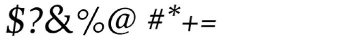 Cultura Italic Font OTHER CHARS