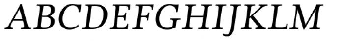 Cultura Italic Font UPPERCASE