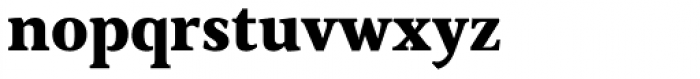 Cultura New Black Font LOWERCASE
