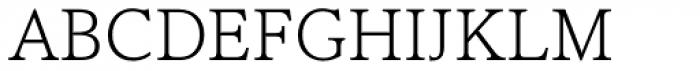 Cultura New Light Font UPPERCASE
