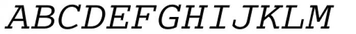 Cumberland Std Italic Font UPPERCASE
