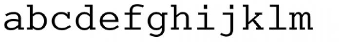 Cumberland Std Regular Font LOWERCASE