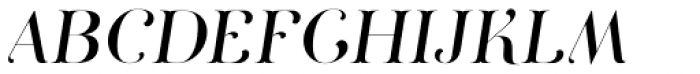 Curator Italic Font UPPERCASE