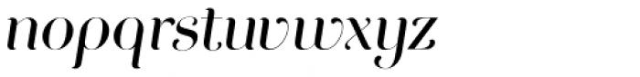 Curator Italic Font LOWERCASE