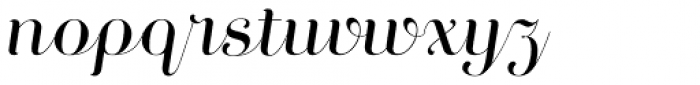 Curator Script Font LOWERCASE
