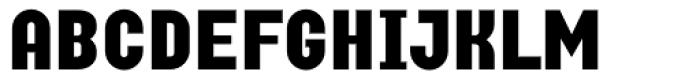 Curbdog Font UPPERCASE